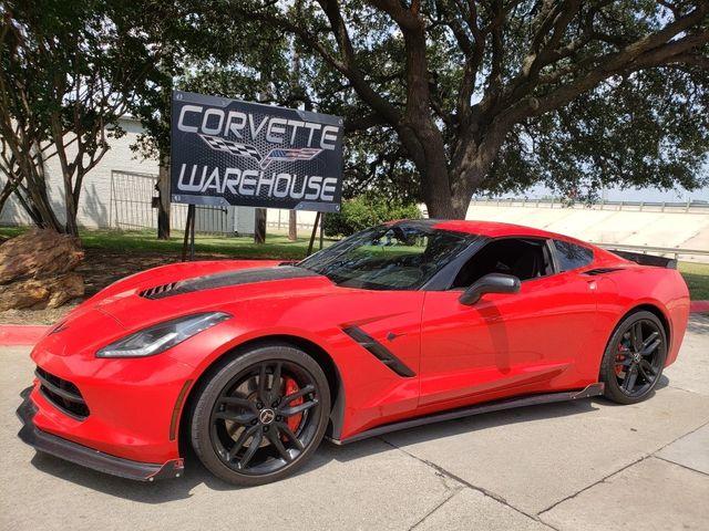 2015 Chevrolet Corvette Coupe Z51, 3LT, FE4, NAV, NPP, Split/Skirts, Auto in Dallas, Texas 75220