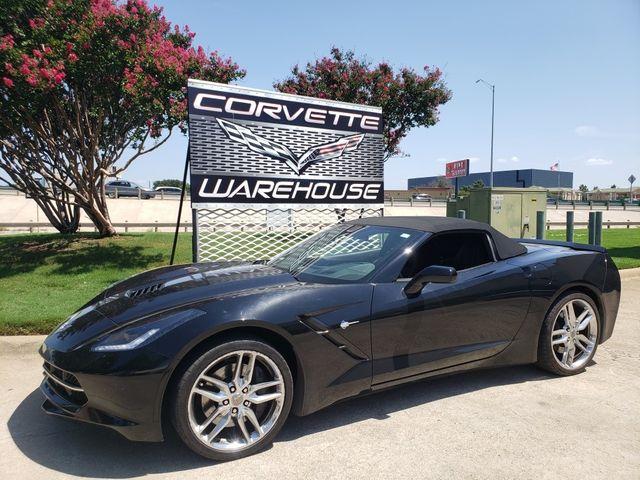 2015 Chevrolet Corvette Convertible Z51, 2LT, NAV, PDR, Auto, Chromes 10k