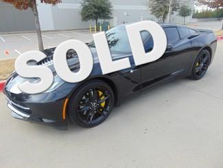 2015 Chevrolet Corvette Z51 3LT 8368 MILES ONE OWNER AUTO | Grapevine, TX | Corvette Center Dallas in Dallas TX
