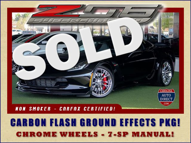 2015 Chevrolet Corvette Z06 3LZ - CARBON FLASH GROUND EFFECTS PKG! Mooresville , NC 0