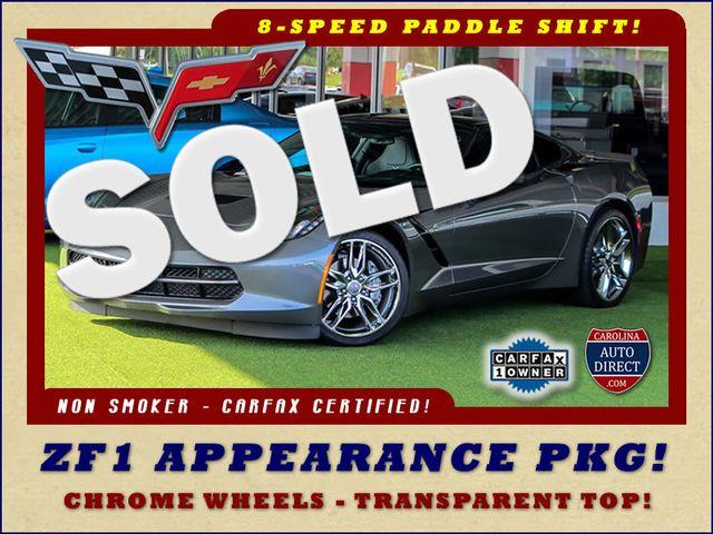 2015 Chevrolet Corvette 2LT - ZF1 APPEARANCE PKG - NAV - PERFORMANCE DATA! Mooresville , NC