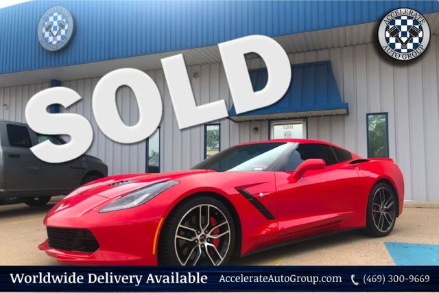 2015 Chevrolet Corvette Z51 3LT in Rowlett