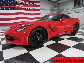 2015 Chevrolet Corvette LT Coupe Red Manual Leather Low Miles New Tires in Searcy, AR 72143