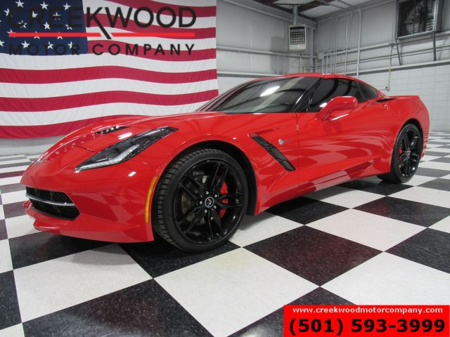 2015 Chevrolet Corvette LT Coupe Red Manual Leather Low Miles New Tires