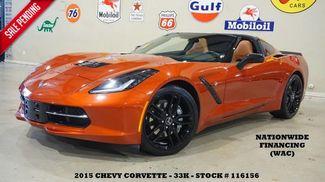 2015 Chevrolet Corvette Stingray Coupe 2LT AUTO,HUD,NAV,HTD/COOL LTH,BLK WHLS,33K! in Carrollton TX, 75006