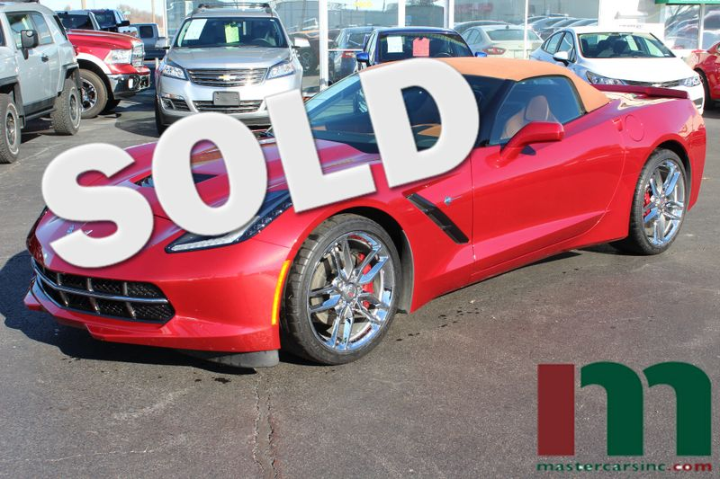 2015 Chevrolet Corvette Stingray 3LT ZF1 | Granite City, Illinois | MasterCars Company Inc. in Granite City Illinois