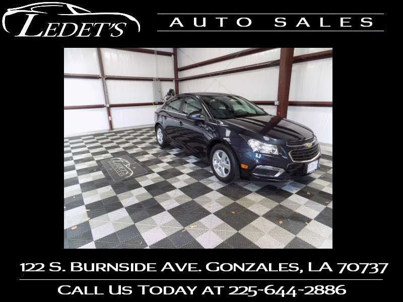 2015 Chevrolet Cruze LT - Ledet's Auto Sales Gonzales_state_zip in Gonzales Louisiana