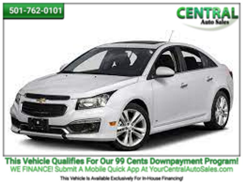 2015 Chevrolet Cruze LT   Hot Springs, AR   Central Auto Sales in Hot Springs AR