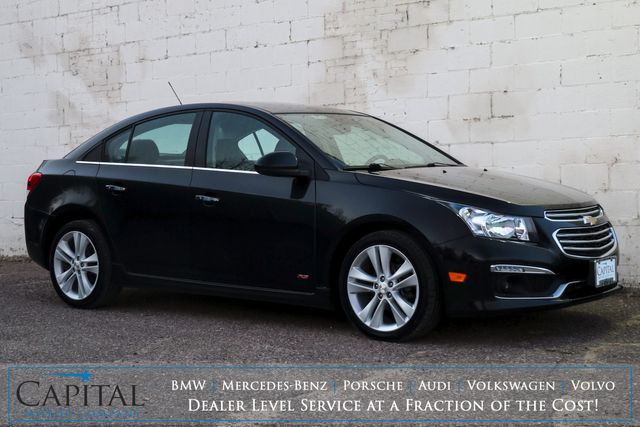 2015 Chevrolet Cruze LTZ RS w/Touchscreen INFOtainment, Pioneer Audio, Moonroof, Heated Seats & Remote Start in Eau Claire, Wisconsin 54703