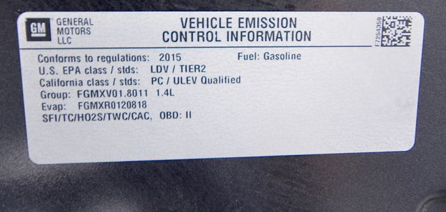 2015 Chevrolet Cruze LT Reseda, CA 49