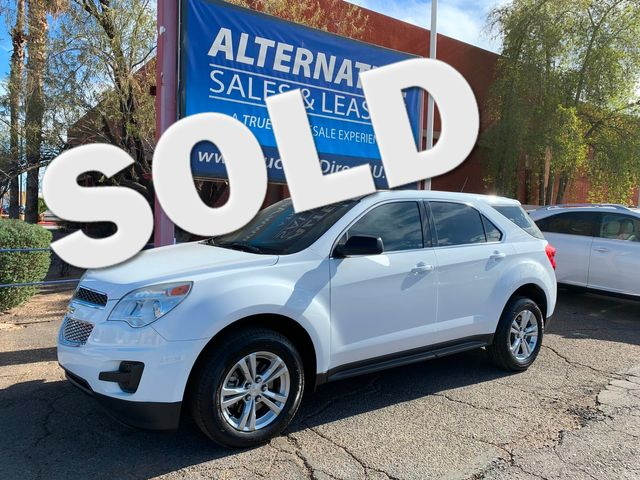 2015 Chevrolet Equinox LS 3 MONTH/3,000 MILE NATIONAL POWERTRAIN WARRANTY Mesa, Arizona