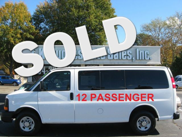 2015 Chevrolet Express 12-Passenger LS Richmond, Virginia 0