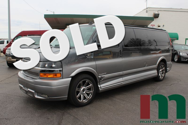 2015 Chevrolet Express 2500 Upfitter Explorer 9 Passenger Conversion   Granite City, Illinois   MasterCars Company Inc. in Granite City Illinois