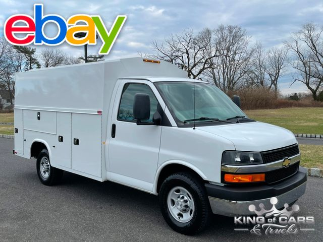 2015 Chevrolet Express 3500 CUTAWAY UTILITY VAN LIKE NEW