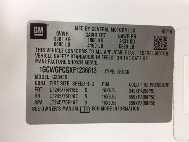 2015 Chevrolet Express 7 Passenger Customizers Conversion High Top Richmond, Virginia 54