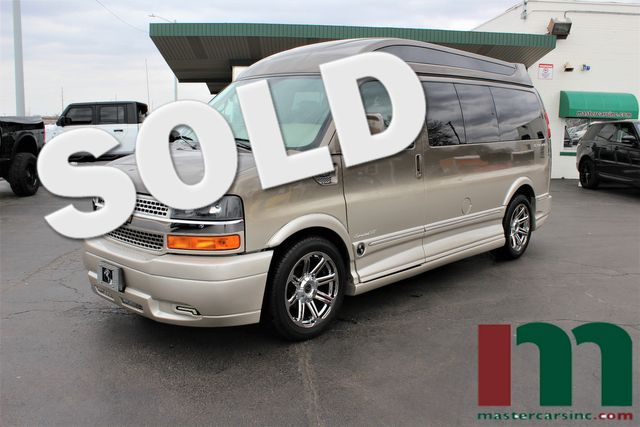 2015 Chevrolet Express Explorer Conversion Van High Top | Granite City, Illinois | MasterCars Company Inc. in Granite City Illinois