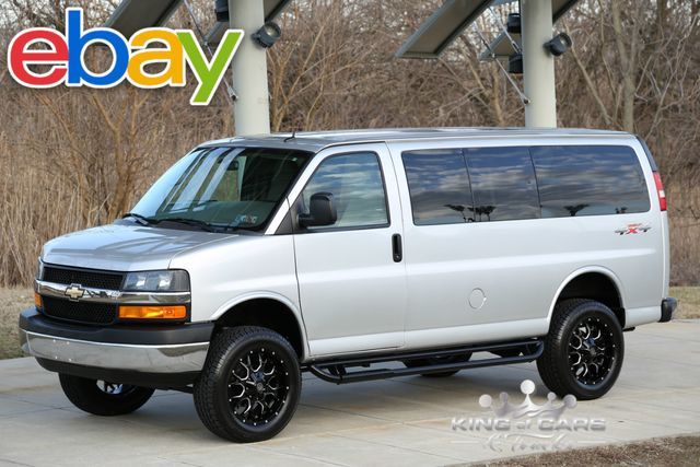 2015 Chevrolet Express G2500 Lt QUIGLEY 4X4 6.0L V8 22K MILES RARE!