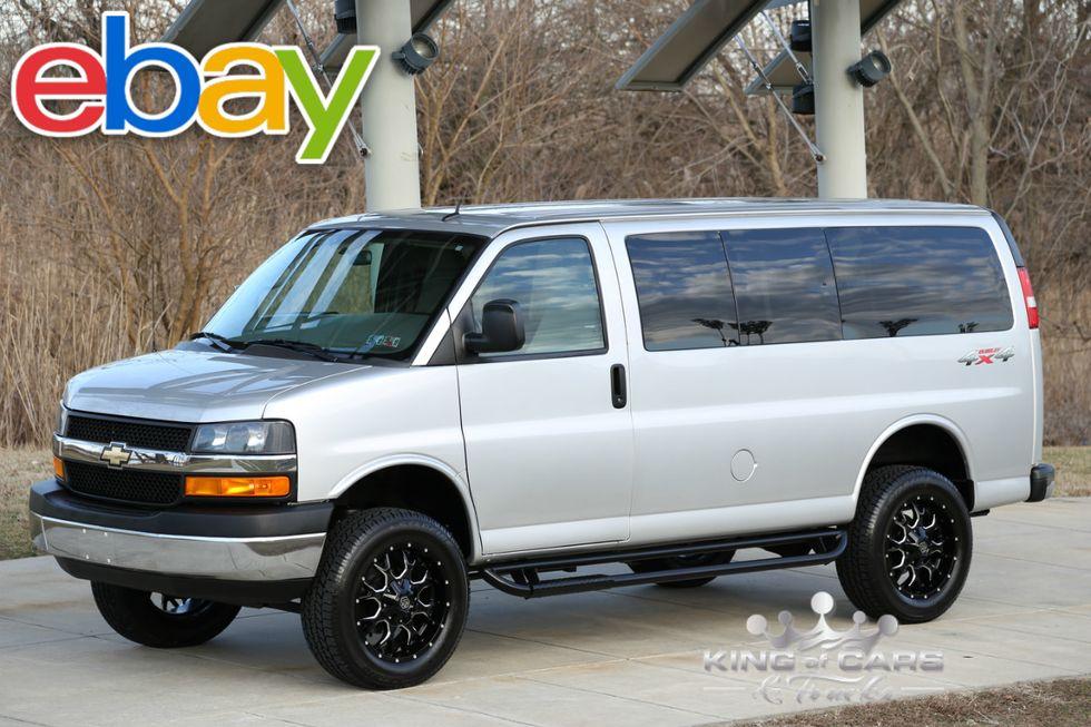 2015 Chevrolet Express G2500 Lt QUIGLEY 4X4 6 0L V8 22K