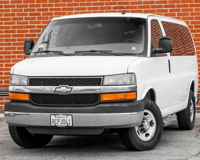 2015 Chevrolet Express Passenger LT Burbank, CA 0