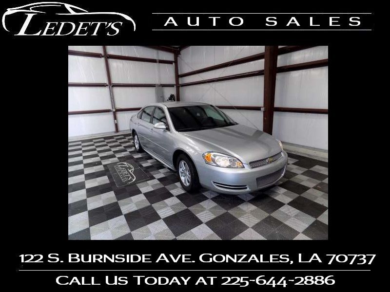 2015 Chevrolet Impala Limited LS - Ledet's Auto Sales Gonzales_state_zip in Gonzales Louisiana