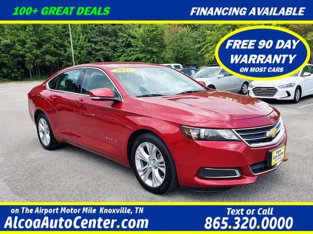 "2015 Chevrolet Impala LT Leather /AC & Heated Seats/18"" Aluminum Wheels"