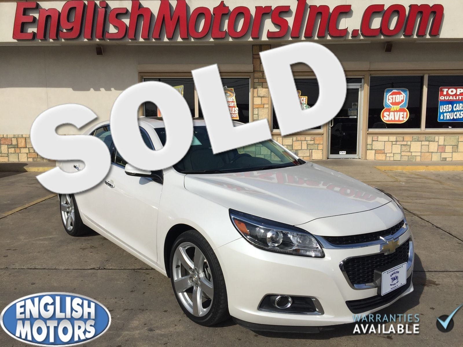 2015 chevrolet malibu ltz turbo
