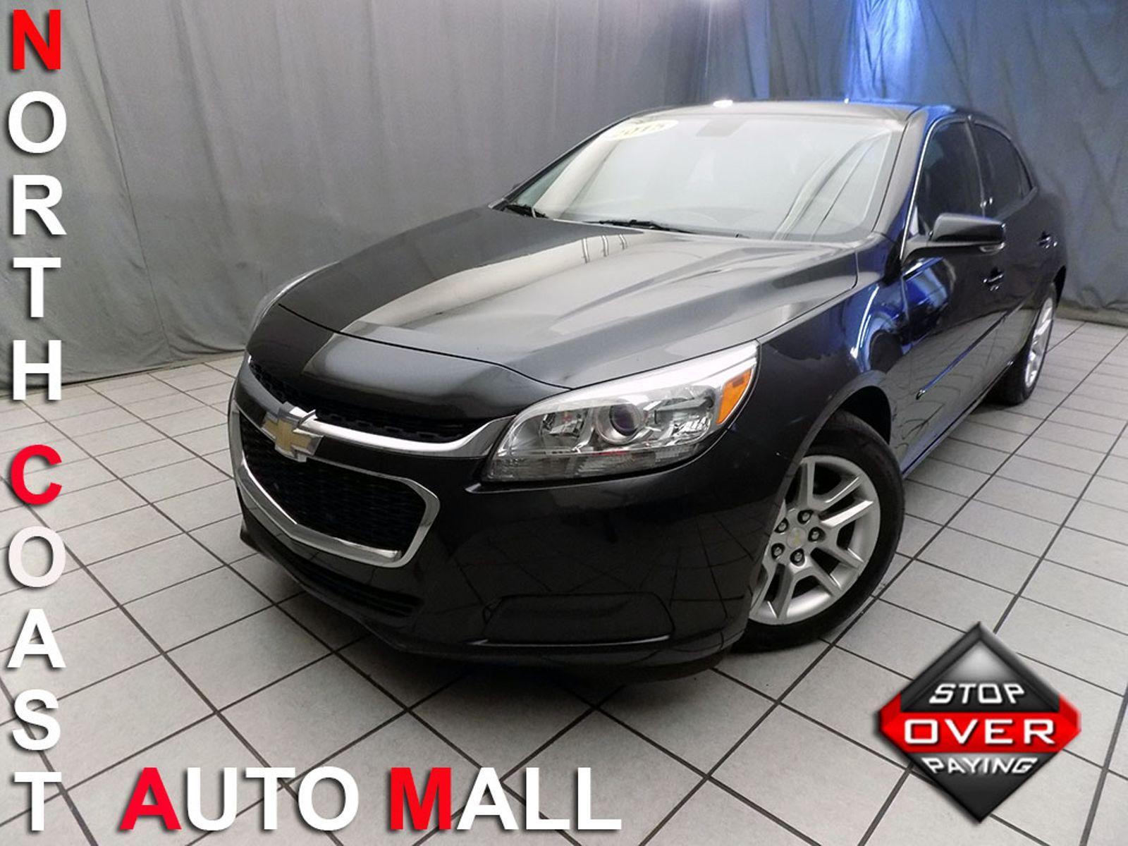 2015 Chevrolet Malibu LT city Ohio North Coast Auto Mall of Cleveland
