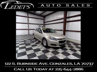 2015 Chevrolet Malibu LS - Ledet's Auto Sales Gonzales_state_zip in Gonzales