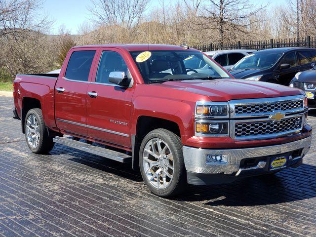 2015 Chevrolet Silverado 1500 LTZ | Champaign, Illinois | The Auto Mall of Champaign in Champaign Illinois