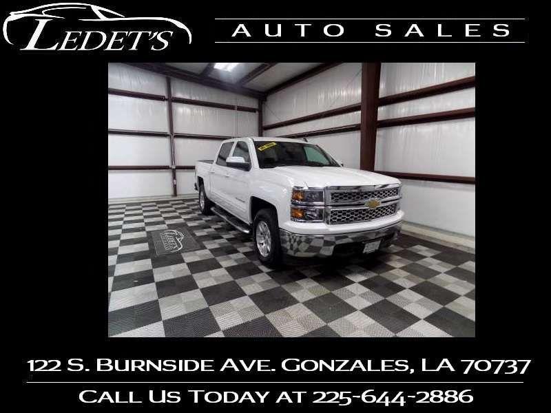 2015 Chevrolet Silverado 1500 LT - Ledet's Auto Sales Gonzales_state_zip in Gonzales Louisiana