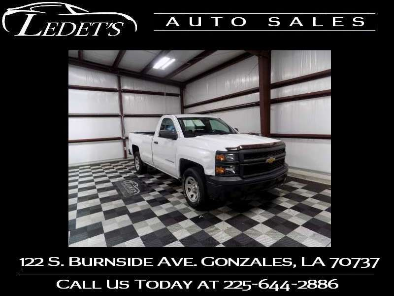 2015 Chevrolet Silverado 1500 Work Truck - Ledet's Auto Sales Gonzales_state_zip in Gonzales Louisiana