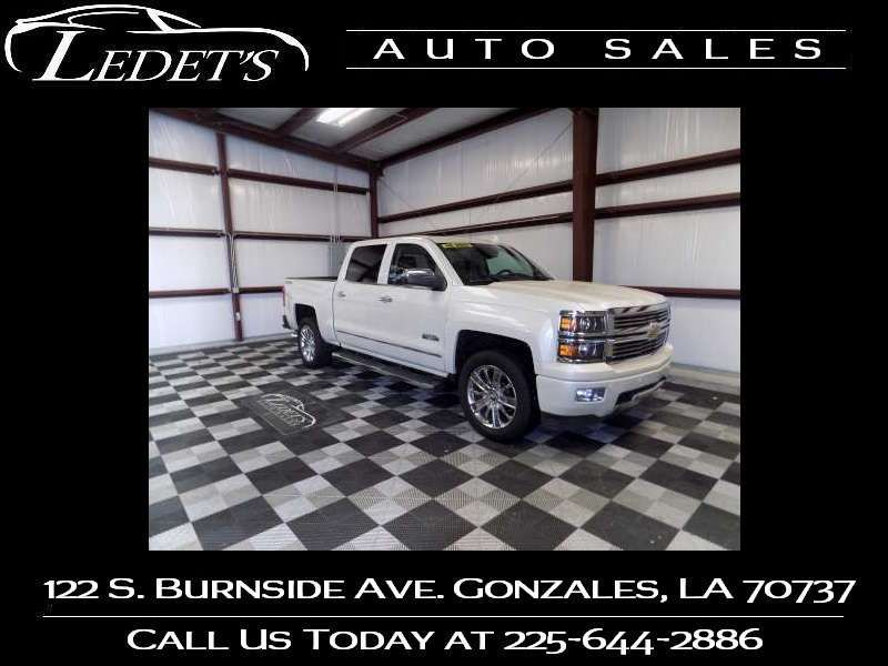 2015 Chevrolet Silverado 1500 High Country - Ledet's Auto Sales Gonzales_state_zip in Gonzales Louisiana