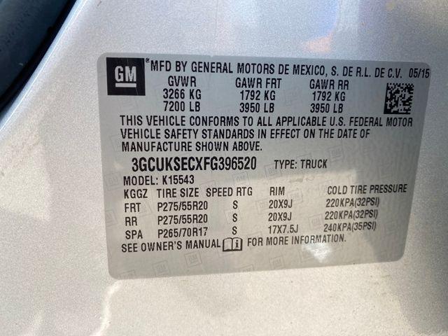 2015 Chevrolet Silverado 1500 LTZ Madison, NC 46