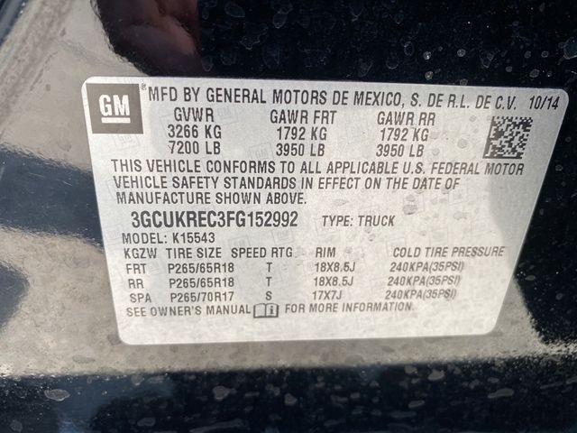 2015 Chevrolet Silverado 1500 LT Madison, NC 40