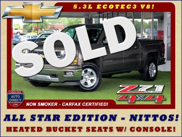 2015 Chevrolet Silverado 1500 LT Crew Cab 4x4 Z71 - ALL STAR - BUCKET SEATS! Mooresville , NC 0