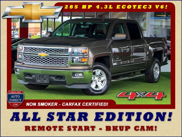 2015 Chevrolet Silverado 1500 LT Crew Cab 4x4 - ALL STAR EDITION - ONE OWNER! Mooresville , NC 0