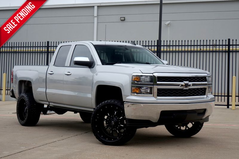 2015 Chevrolet Silverado 1500 LS* Lifted* One Owner* Fuel Wheels* Pwr Boards*** | Plano, TX | Carrick's Autos in Plano TX