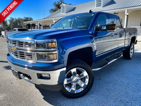 2015 Chevrolet Silverado 1500 LTZ SILVERADO 4X4 V8 LEATHER Z71 CARFAX CERT in Plant City, Florida