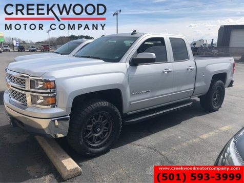 2015 Chevrolet Silverado 1500 LT 4x4 Double Cab Black 20s New Tires Low Miles in Searcy, AR