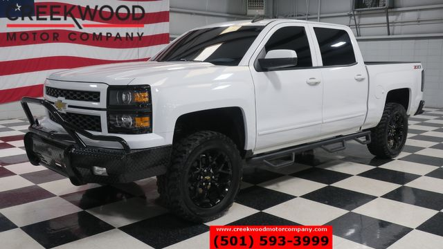 2015 Chevrolet Silverado 1500 LT Z71 4x4 White 1 Owner Leveled 20s Leather CLEAN