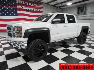 2015 Chevrolet Silverado 1500 LT 4x4 White Lifted New Tires Black 20s Low Miles in Searcy, AR 72143