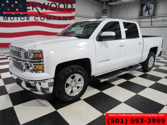 2015 Chevrolet Silverado 1500 LT 2WD Crew Cab White 1 Owner New Tires Low Miles in Searcy, AR 72143