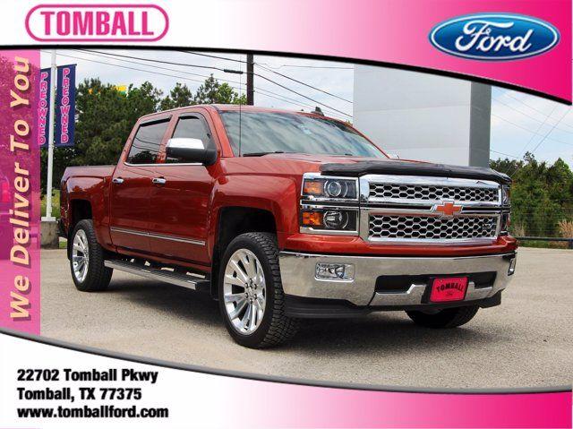 2015 Chevrolet Silverado 1500 LTZ in Tomball, TX 77375