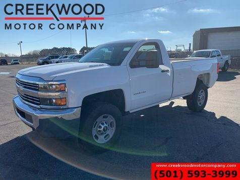 2015 Chevrolet Silverado 2500HD WT LS LT Regular Cab Long Bed Diesel 4x4 New Tires in Searcy, AR