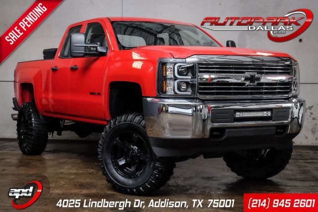 2015 Chevrolet Silverado 2500HD Lifted w/ MANY Upgrades