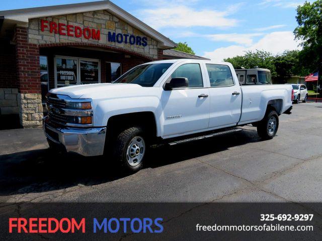 2015 Chevrolet Silverado 2500HD Built After Aug 14 Work Truck 2WD in Abilene,Tx, Texas 79605