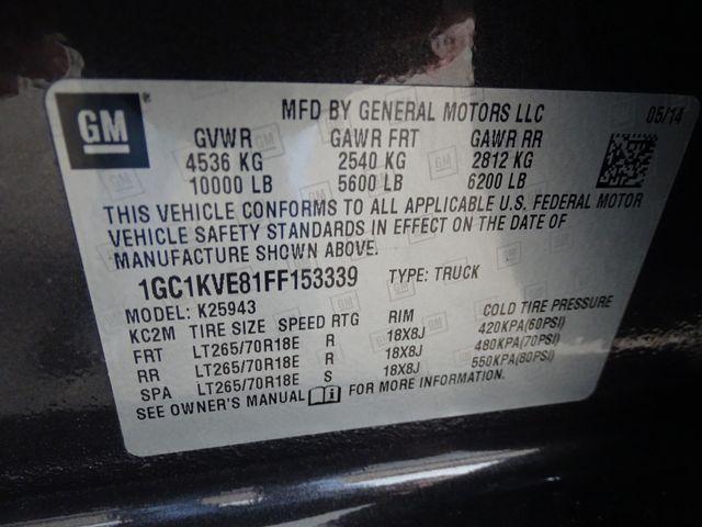 2015 Chevrolet Silverado 2500HD Built After Aug 14 LT Corpus Christi, Texas 47