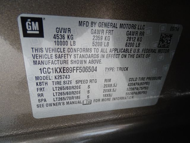 2015 Chevrolet Silverado 2500HD Built After Aug 14 High Country Corpus Christi, Texas 53