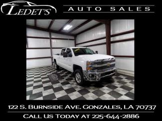 2015 Chevrolet Silverado 2500HD Built After Aug 14 LT - Ledet's Auto Sales Gonzales_state_zip in Gonzales