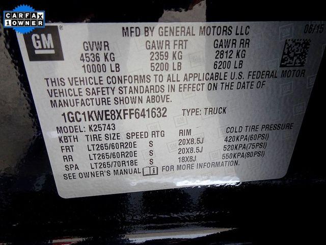 2015 Chevrolet Silverado 2500HD Built After Aug 14 LTZ Madison, NC 61